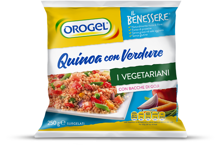 Quinoa with Veggie and Goji Berries