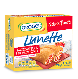 Lunette with Mozzarella and Tomato