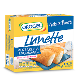 Lunette with Mozzarella and Cheese