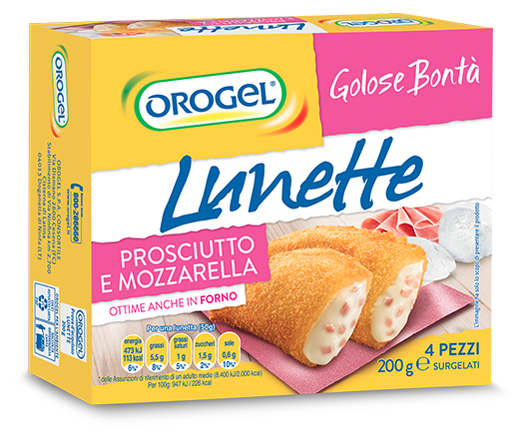 Lunette with Mozzarella and Ham