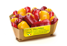 Pepper Halves - Red And Yellow