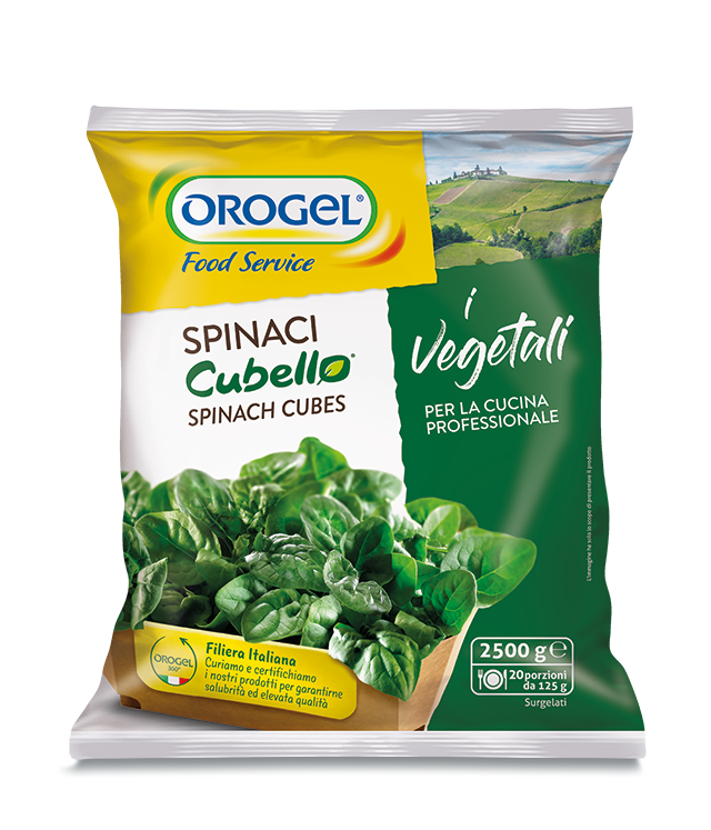 Spinach Portions