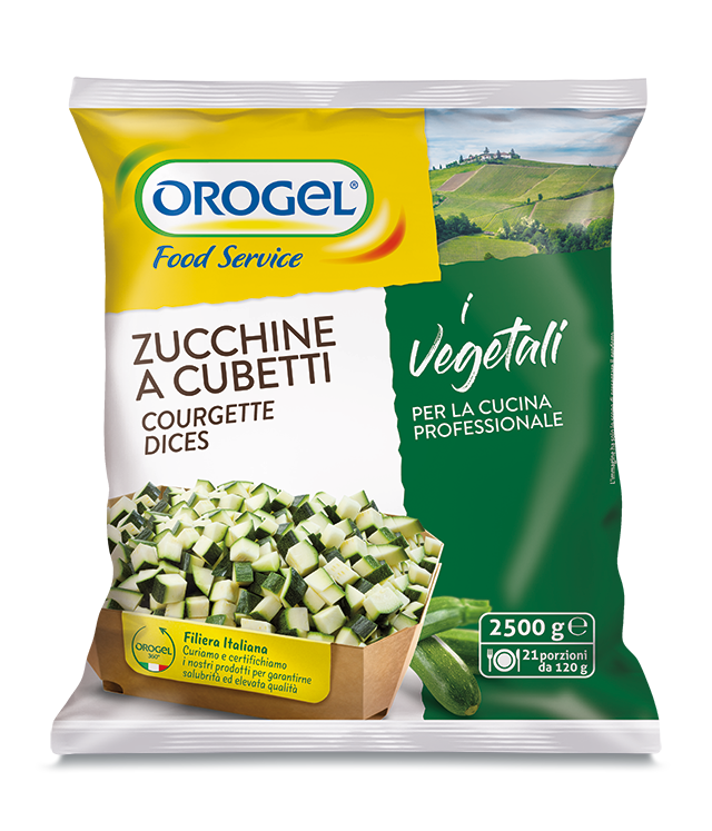 Courgette Dices