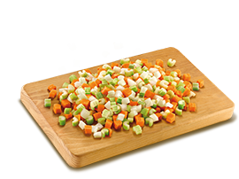 Soffritto Mix - with Onion, Celery And Carrots