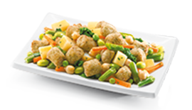 Soy Tots with Vegetables