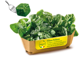 Organic Spinach Leaves Portions