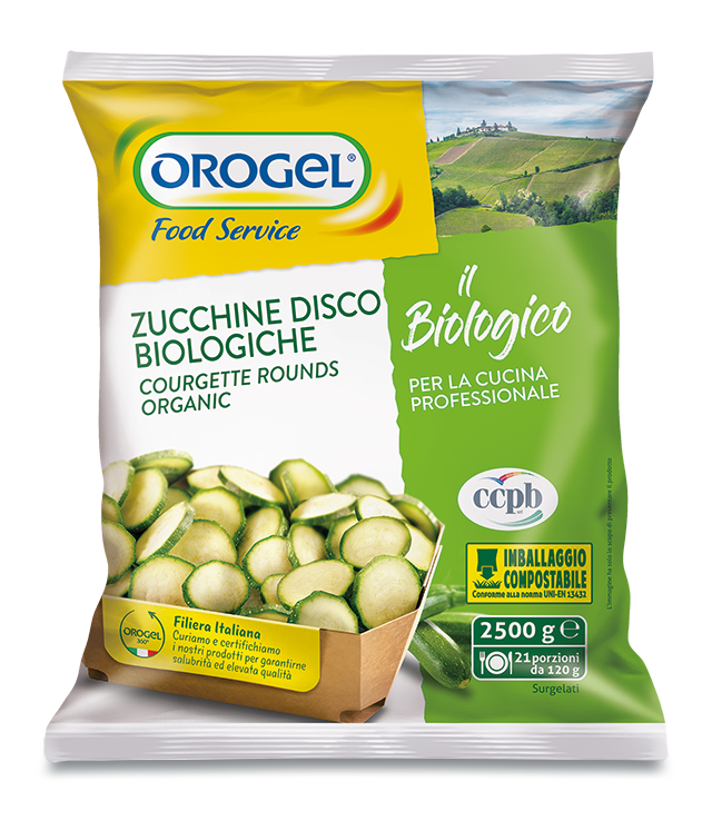 Organic Courgette Rounds