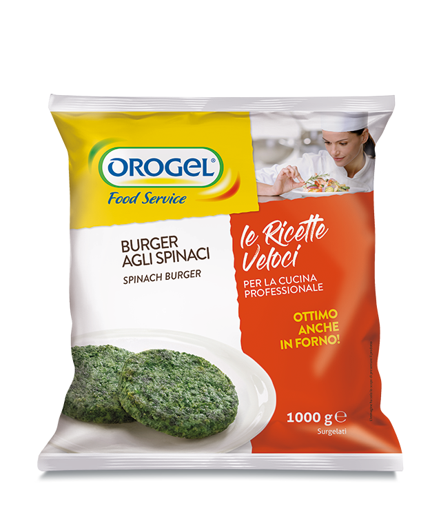 Spinach Burger (80 g)