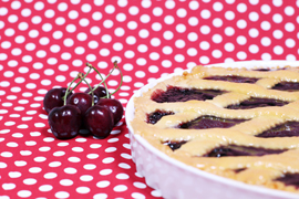 Small pies with Cherry Jam