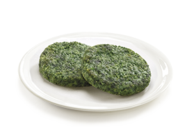 Spinach Maxi Burger  (125 g)