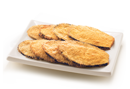 Breaded Aubergine Cutlet