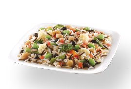 Pulses and Rices with Sunflower Seeds and Vegetables