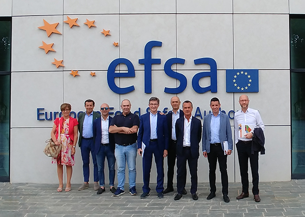 Orogel in visita a EFSA